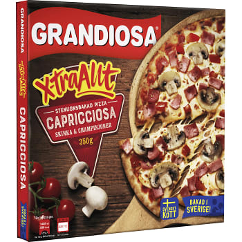 Extra allt Capricciosa Fryst 350g Grandiosa