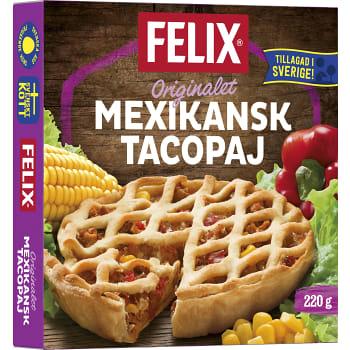 Mexikansk tacopaj Fryst 220g Felix