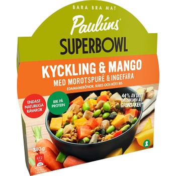 Superbowl Kyckling & mango 380g Pauluns