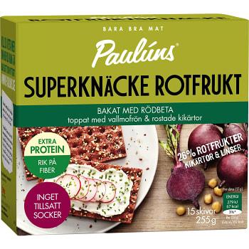 Rotfruktsknäcke Rödbeta 15-p 255g Paulúns