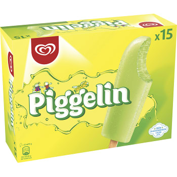 Glass Piggelin 15-pack GB Glace