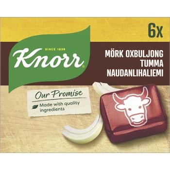 Mörk oxbuljong 6-p Knorr