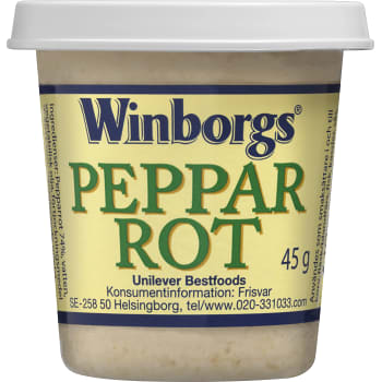 Pepparrot 45g Winborgs