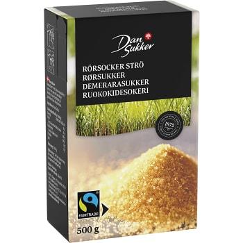 Rörsocker Strö 500g Fairtrade Dansukker