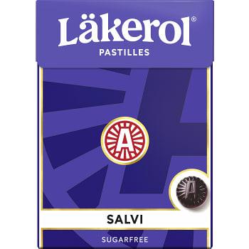 Halstabletter Salvia Sockerfri 75g Läkerol