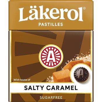 Halstabletter Salty caramel 25g Sockerfri Läkerol