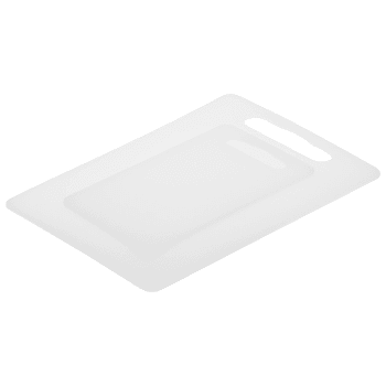 Skärbrädor Plast Vit 14x24cm/4x34cm 2-p ICA Basic