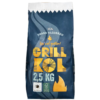 Grillkol 2,5kg ICA Cook & Eat