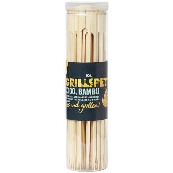 Grillspett Bambu 28cm 100-p ICA Cook & Eat