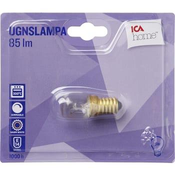 Ugnslampa päron 15W E14 85lm 1-p ICA Home