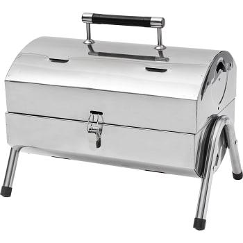 Bärbar grill Rostfri 38x25cm ICA Cook & Eat