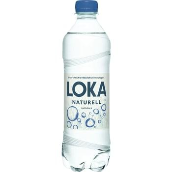 Vatten Kolsyrad Naturell 50cl Loka