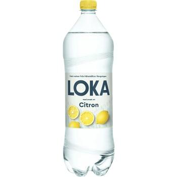 Vatten Kolsyrad Citron 1,5l Loka