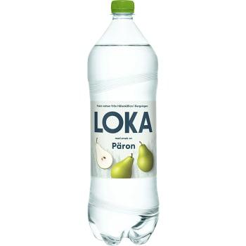 Vatten Kolsyrad Päron 1,5l Loka