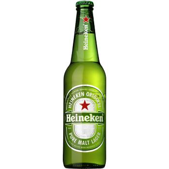 Öl Lager 3,5% 50cl Heineken