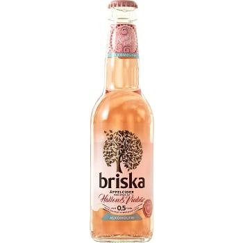 Rosécider Hallon & svarta vinbär Alkoholfri 33cl Briska