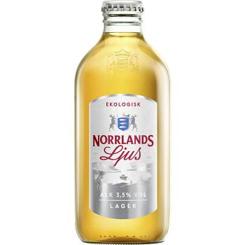 Öl Ljus 3,5% Ekologisk 33cl Norrlands Guld
