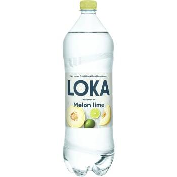 Vatten Kolsyrad Melon Lime 150cl Loka