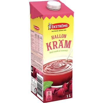 Hallonkräm 1l Ekströms