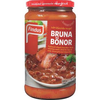 Bruna bönor 520g Findus