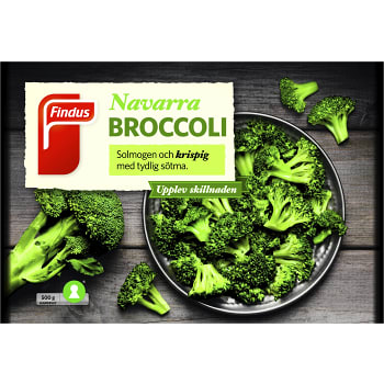 Navarra broccoli fryst 500g Findus