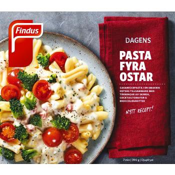 Pasta fyra ostar Måltid Fryst 390g Findus