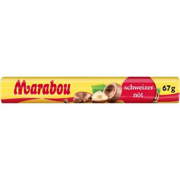 Chokladrulle Schweizernöt 67g Marabou