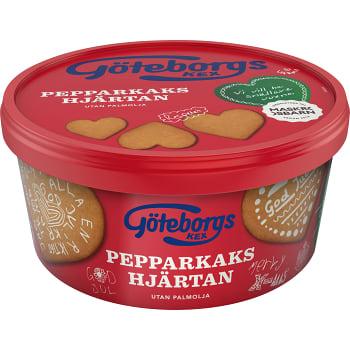 Pepparkakshjärtan 375g Göteborgs