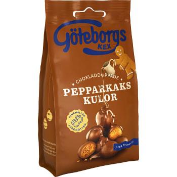 Kaffebröd Chokladdoppade pepparkakskulor 120g Göteborgs