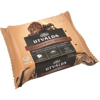 Kakor Sötsalta Bitar Brownie 100g Göteborgs