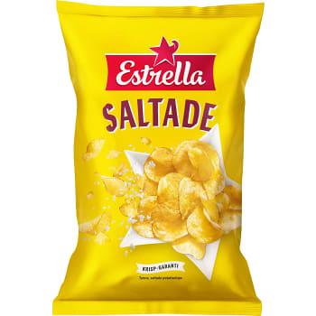 Lättsaltade Potatischips 275g Estrella