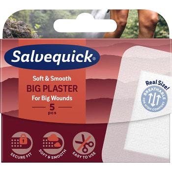 Plåster stora 5-p Salvequick