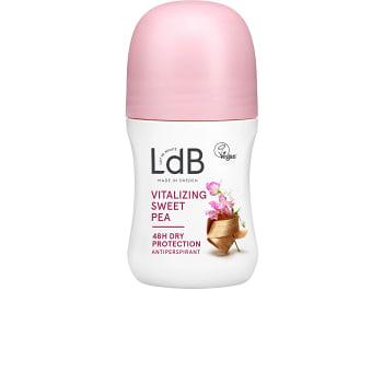Deodorant Vitalizing Sweet Pea & Silk 48h 60ml LdB