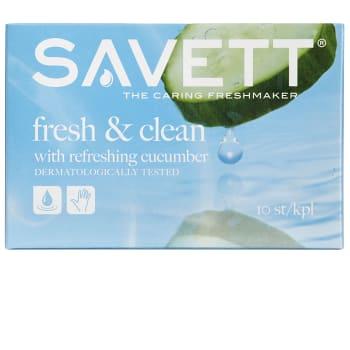 Fresh Våtservett 10-p Savett
