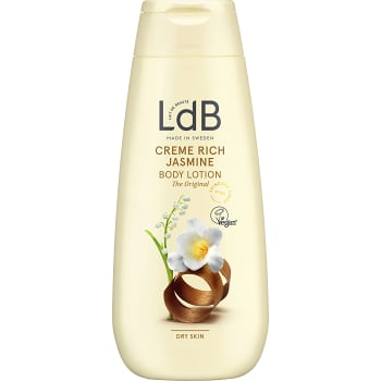 Cream rich Jasmine & shea Body lotion 250ml LdB