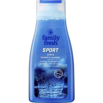 Sport Schampo 500ml Family Fresh