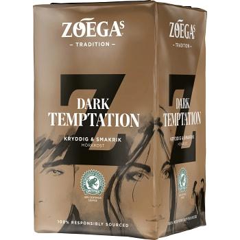 Dark Temptation Bryggkaffe 450g Zoegas