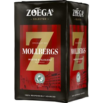 Mollbergs blandning Bryggkaffe 450g Zoegas