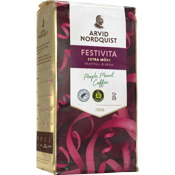 Bryggkaffe, Festivita, Extra mörk, 500g, Arvid Nordquist Classic