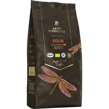 Kaffe Hela bönor Solid 450g KRAV Arvid Nordquist