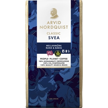Svea Bryggkaffe 500g Arvid Nordquist Classic