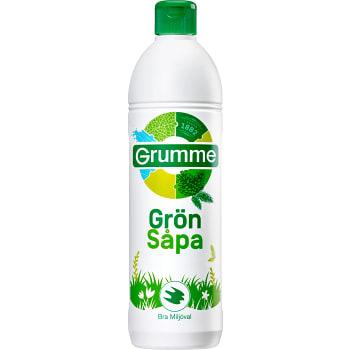Såpa Grön 750ml Miljömärkt Grumme