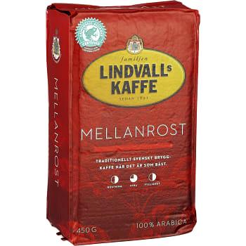 Bryggkaffe, mellanrost, 450g, Lindvalls kaffe