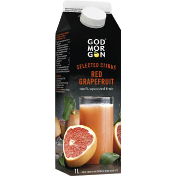 Red grapefruit juice 1l God Morgon