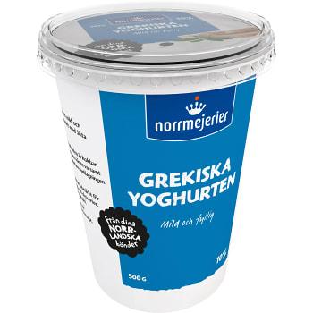 Yoghurt Grekisk 10% 500g Norrmejerier
