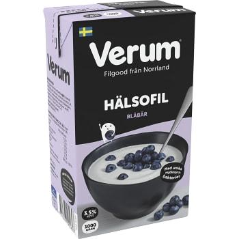 Hälsofil Blåbär 3,5% 1000g Verum