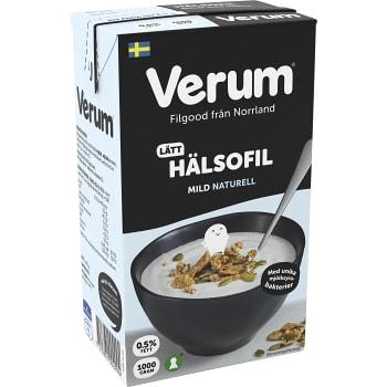 Hälsofil Naturell 0,5% 1000g Verum