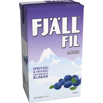 Fil Blåbär 3,7% 1000g Fjällfil