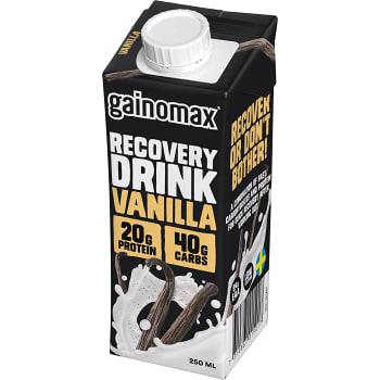 Vanilla Återhämtningsdryck 250ml Gainomax