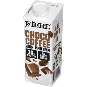 Proteindryck Choco Coffee 250ml Gainomax